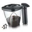 Pojemnik próżniowy na kawę lub herbatę z pompką Tommorow's Kitchen 1,3l 2883460