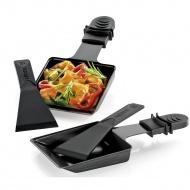 2 patelenki z łopatkami do raclette / grilla stołowego