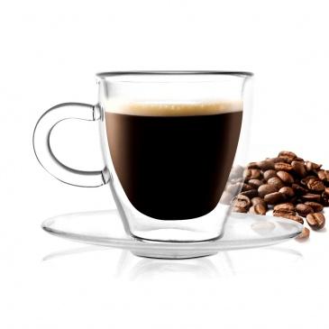 2 szkl.do espresso z podw.sc. 50ml  amo 3055