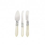 3 częściowy komplet noży do sera Casa Bugatti Aladdin