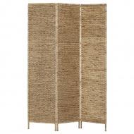 3-panelowy parawan, 116 x 160 cm, hiacynt wodny
