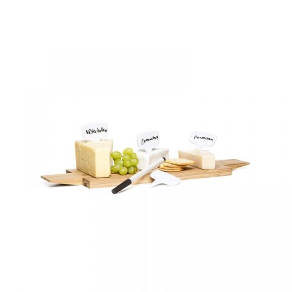 4 tabliczki do oznaczania żywności z markerem Sagaform Fun SF-5017100