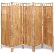 5-panelowy parawan bambusowy, 200x160 cm