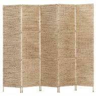 5-panelowy parawan pokojowy, 193 x 160 cm, hiacynt wodny