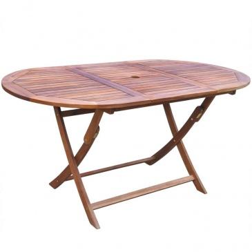 7-cz. zestaw mebli ogrodowych lite drewno akacjowe