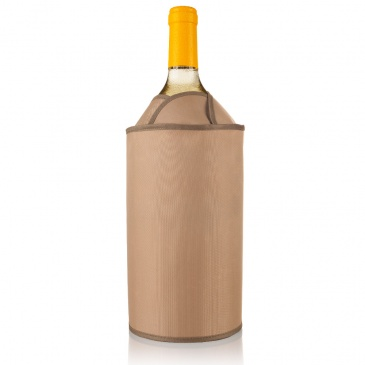 Aktywny schładzacz do wina Vacu Vin tulipan jasny
