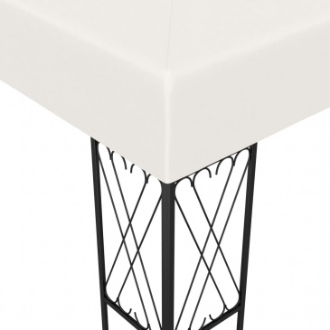 Altana, 3 x 3 m, kremowa, tkanina