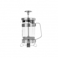 Barista & Co - 3 Cup Plunge Pot - Electric Steel