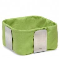 Bawełniany wkład do koszyka na pieczywo 25,5 cm Blomus Desa zielony