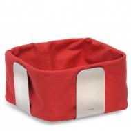 Bawełniany wkład do koszyka na pieczywo 25,5 cm Blomus Desa czerwony