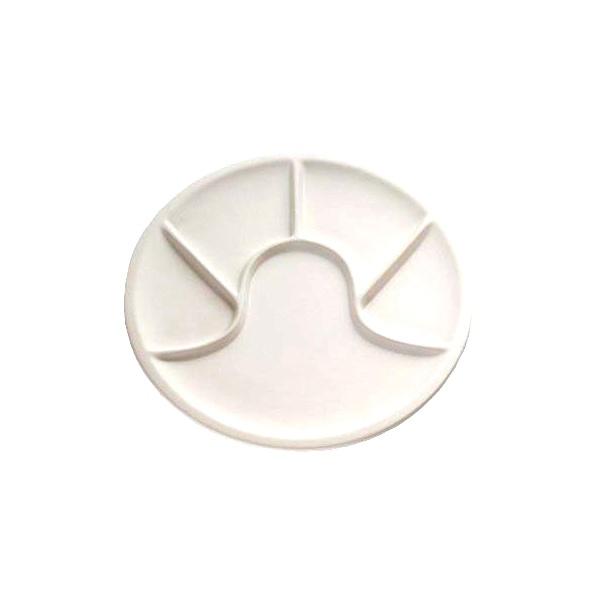 Biały talerz do founde Kuchenprofi KU-2110202200
