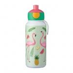 Bidon 400 ml Flamingi dla dzieci Campus