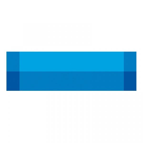 Bieżnik na stół Contento Zarah niebieski CO-656176