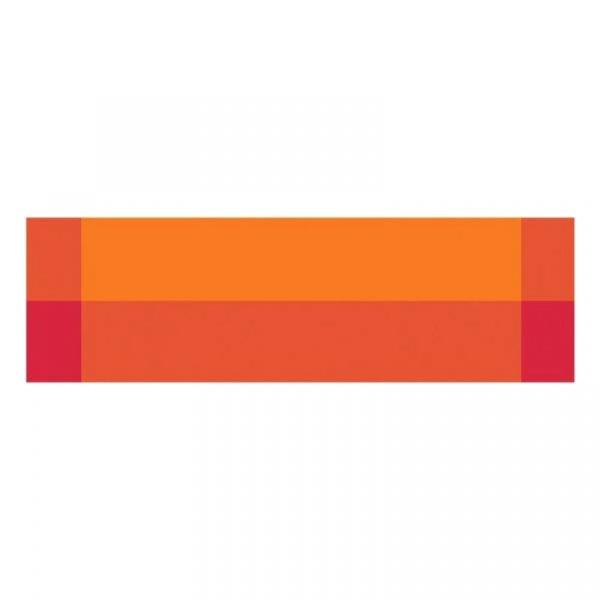 Bieżnik na stół Contento Zarah pomarańczowy CO-656171
