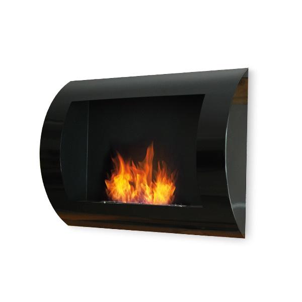 Biokominek dekoracyjny 60x45 cm EcoFire Convex czarny EF-6045-1