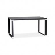 Biurko Kokoon Design Warner 140x74 cm czarne