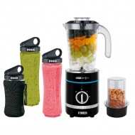 Blender Noveen Sport Mix & Fit SB2000 Xline Black Kielich