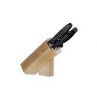Blok noży kuchennych 6el. Victorinox brązowy