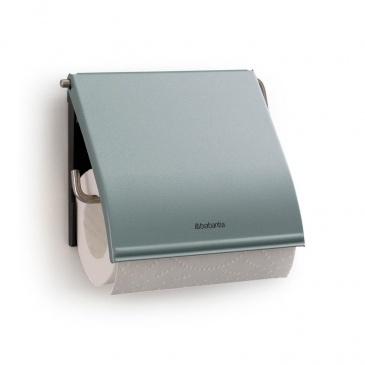 BRABANTIA - Classic - Uchwyt na papier toaletowy - Metaliczny miętowy