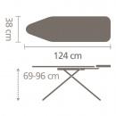 BRABANTIA - Deska do prasowania - rozmiar B - Orla Kiely Flower