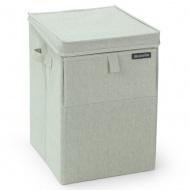 BRABANTIA - Prostokątny składany kosz na bieliznę 55 l - Zielony