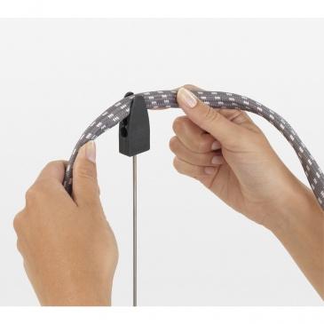 BRABANTIA - Przypinany uchwyt / antena do kabla - Szary