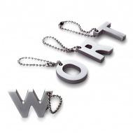 """Breloczek My letters """"I"""" Philippi Keys"""