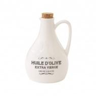 Butelka na oliwę z dozownikiem 0,5L Nuova R2S Delices Gourmets biały