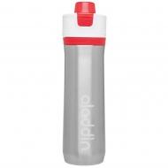 Butelka na wodę 0,6 l Aladdin Active Hydration czerwona stalowa