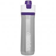 Butelka na wodę 0,6 l Aladdin Active Hydration fioletowa stalowa