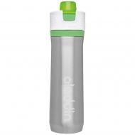Butelka na wodę 0,6 l Aladdin Active Hydration stalowa zielona