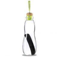 Butelka na wodę 600 ml w pokrowcu BLACK+BLUM Eau Good zielona