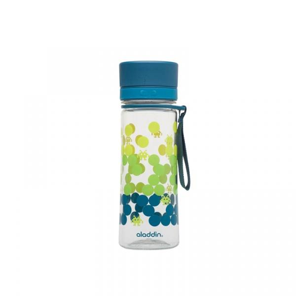 Butelka na wodę dla dzieci 0,35 l Aladdin Lunch Kids morska z nadrukiem AL-10-01101-067