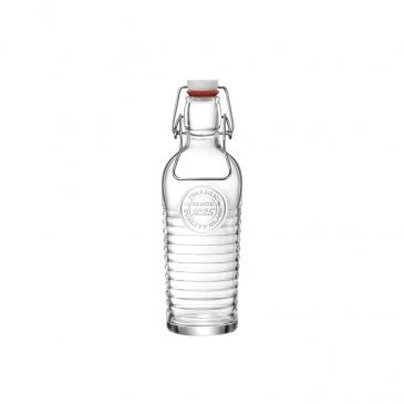 Butelka na wode 750 ml z zatyczką retro