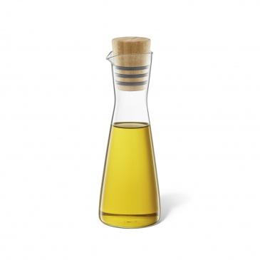 Butelka szklana na oliwę/ocet 250ml Zack Bevo transparentna