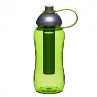 Butelka z wkładem na lód 0,52 l Sagaform Picnic zielona