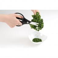 Ceramiczne nożyczki kuchenne 17cm Kyocera czarno białe