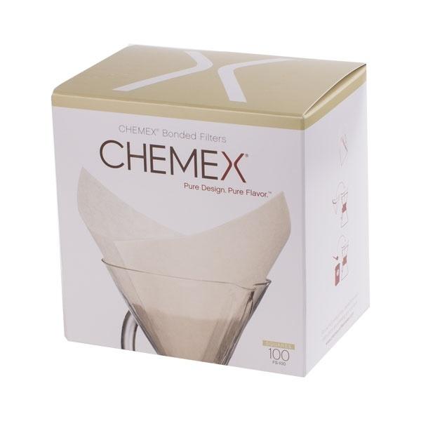 Chemex filtry papierowe kwadratowe 6, 8, 10 filiżanek CD-FS-100