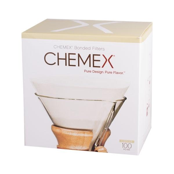 Chemex filtry papierowe okrągłe 6,8,10 filiżanek CD-FC-100
