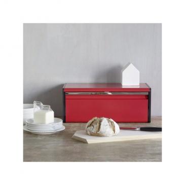 Chlebak kuchenny prostokątny Brabantia czerwony