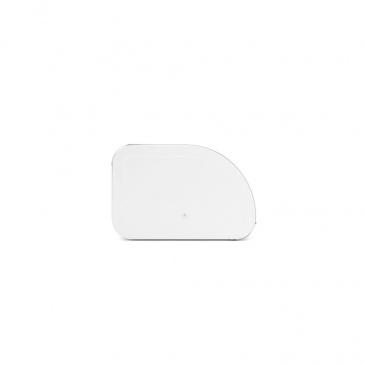 Chlebak kuchenny wypukły Roll Top biały 306020