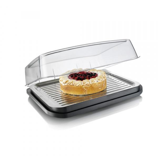 Chłodząca taca grillowa Tomorrows Kitchen czarna TK-3548360
