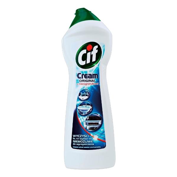 Cif 700ml Cream Original Z Mikrogranulkami Mleczko Do Czyszczenia Powierzchni