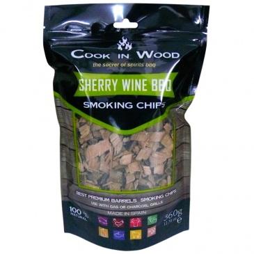 COOK IN WOOD - Wiórki wędzarnicze - SHERRY