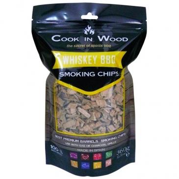 COOK IN WOOD - Wiórki wędzarnicze - WHISKY