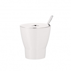 Cukiernica z łyżeczką WMF Barista biała