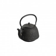 Czajnik żeliwny 1,3l ZEST FOR LIFE Garden czarno-srebrny