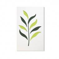Dekoracja ścienna 30 x 50 cm Vialli Design C-Tru biało-kolorowa
