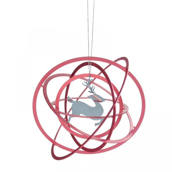 Dekoracja świąteczna Contento Cosmo Reindeer CO-672132