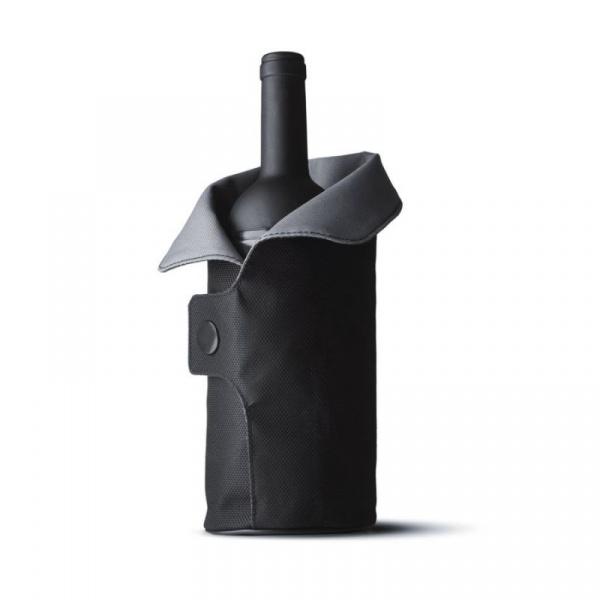 Dekoracyjny Coler na butelkę Menu Cool Coat czarno-szary 4658079